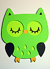 Lime Green Owl