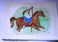 "Carousel Horse    ""RustyBob"""
